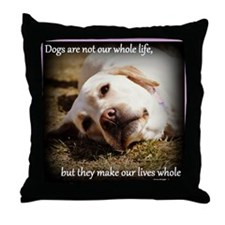 Make Our Lives Whole Throw Pillow