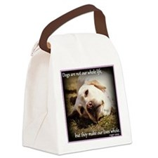 Make Our Lives Whole Canvas Lunch Bag