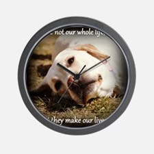 Make Our Lives Whole Wall Clock