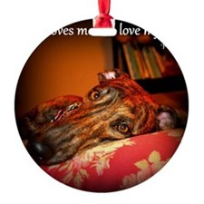 Love my dog Ornament