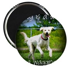 Wagging Tail Magnet