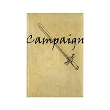 Campaign Journal Rectangle Magnet