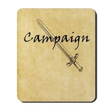 Campaign Journal Mousepad