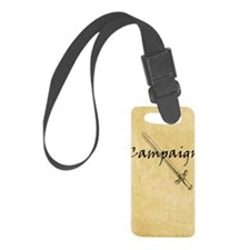 Campaign Journal Luggage Tag
