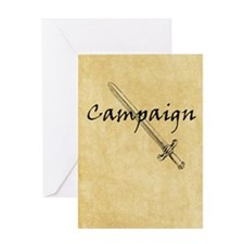 Campaign Journal Greeting Card