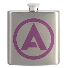 ALLIANCE Solid Color Logo Flask