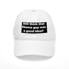 anti obama Obama Guy dark bump Baseball Cap