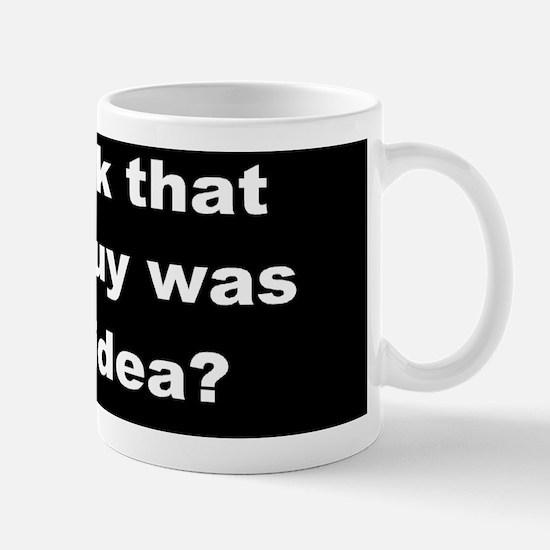anti obama Obama Guy dark bump Mug