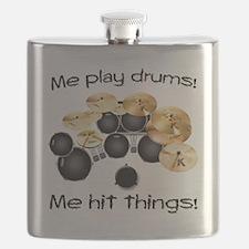 Me Play Drums Flask