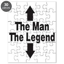The Man The Legend Puzzle