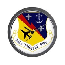 104th Fighter Wing Wall Clock