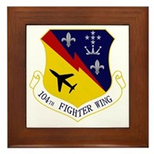 104th Fighter Wing Framed Tile