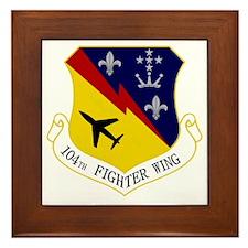 104th Fighter Wing Framed Tile
