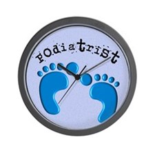 podiatrist 3 Wall Clock