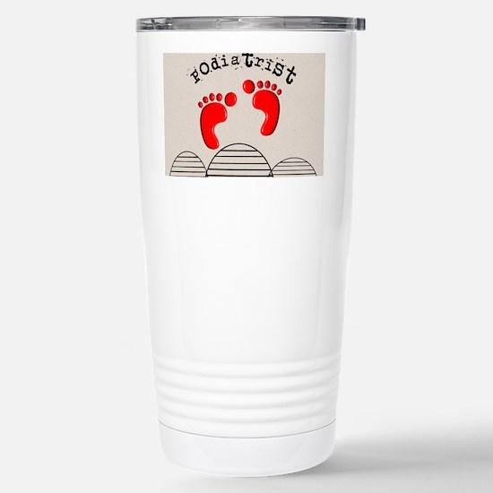 Podiatrist 2 Stainless Steel Travel Mug