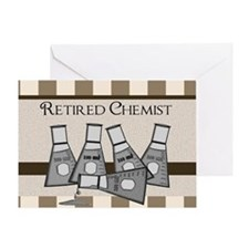 retired chemist blanket 8 Greeting Card