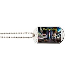 Times Square New York City Dog Tags
