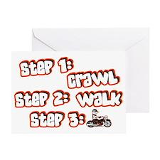 steps Greeting Card