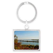 Sinnissippi Park Landscape Keychain