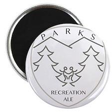 Parks Recreation Ale Magnet