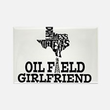 Don't Mess With Texas Oilfield Gi Rectangle Magnet