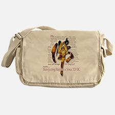 BUDDHA: Since 520BC Messenger Bag