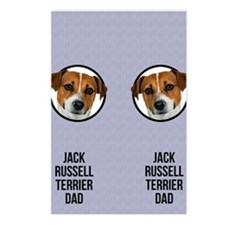 Jack Russell Terrier Dad Postcards (Package of 8)