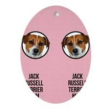 Jack Russell Terrier Mom Oval Ornament
