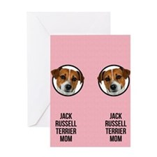 Jack Russell Terrier Mom Greeting Card