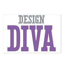 Design DIVA Postcards (Package of 8)