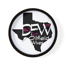 DFW Oilfield Wives Wall Clock