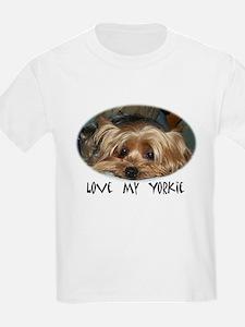 love my yorkie T-Shirt