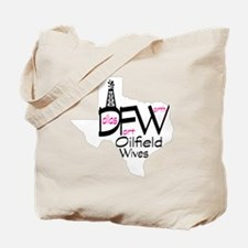 DFW Oilfield Wives White Tote Bag