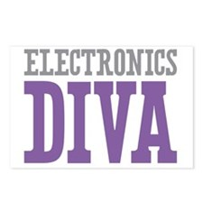 Electronics DIVA Postcards (Package of 8)