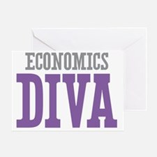 Economics DIVA Greeting Card
