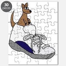 Kangaroo in High Top Puzzle