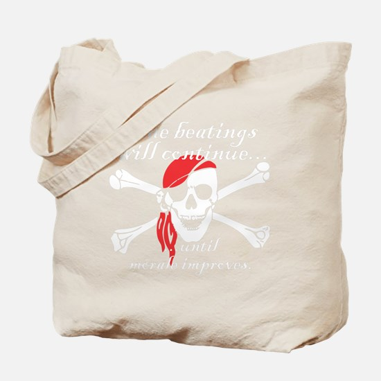 Pirate Morale Tote Bag