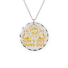 Suns Out Guns Out Necklace
