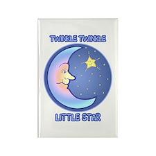 Twinkle Twinkle Little Star Rectangle Magnet