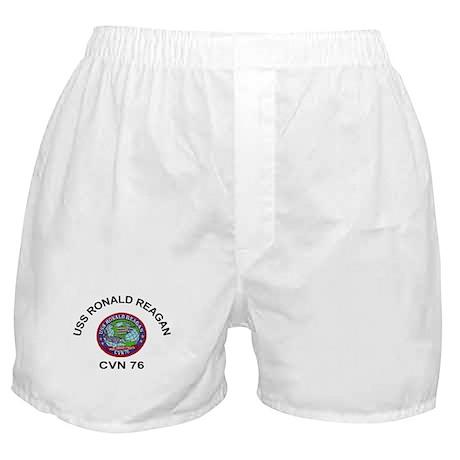 USS Ronald Reagan CVN 76 Boxer Shorts