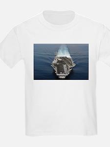 USS Ronald Reagan Ship's Image T-Shirt