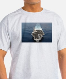 USS Ronald Reagan Ship's Image T-Shirt