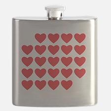 I Love Love Uke Flask