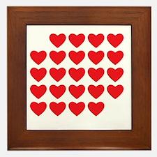 I Love Love Uke Framed Tile