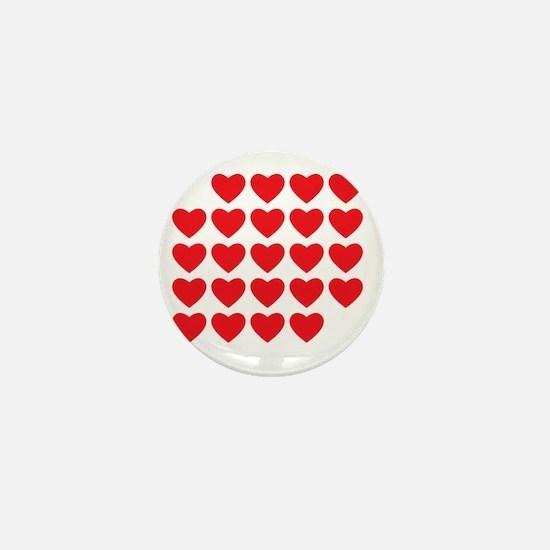 I Love Love Uke Mini Button