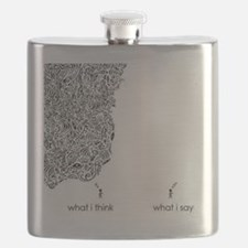 What I Think What I Say Flask