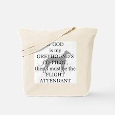Greyhound Attendant Tote Bag