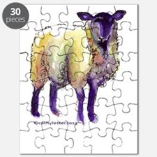 Black Face Sheep Puzzle