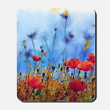 Poppy Field Mousepad
