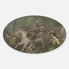 kings mountain Sticker (Oval)